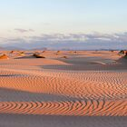 Dunes at sunset 2 by Will Hore-Lacy