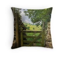 Gateway to the Dales Throw Pillow