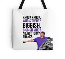Peter Kay - The Tour That Didn't Tour Tour - Knock Knock Joke Tote Bag