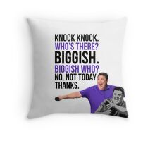 Peter Kay - The Tour That Didn't Tour Tour - Knock Knock Joke Throw Pillow