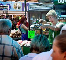 Beer in the Bazaar by Yuri Lev