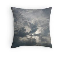 Swirl of The Clouds Throw Pillow