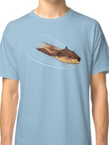 Swimming with Beavers Classic T-Shirt