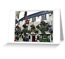 English Pubs Greeting Card