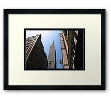IN THE SHADOW OF GIANTS Framed Print