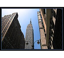 IN THE SHADOW OF GIANTS BRUSHSTROKES Photographic Print