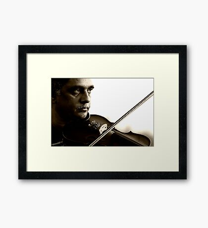 Music and Mood Framed Print