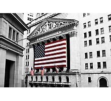 NYSE Photographic Print