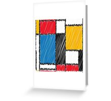 Color dutch Greeting Card