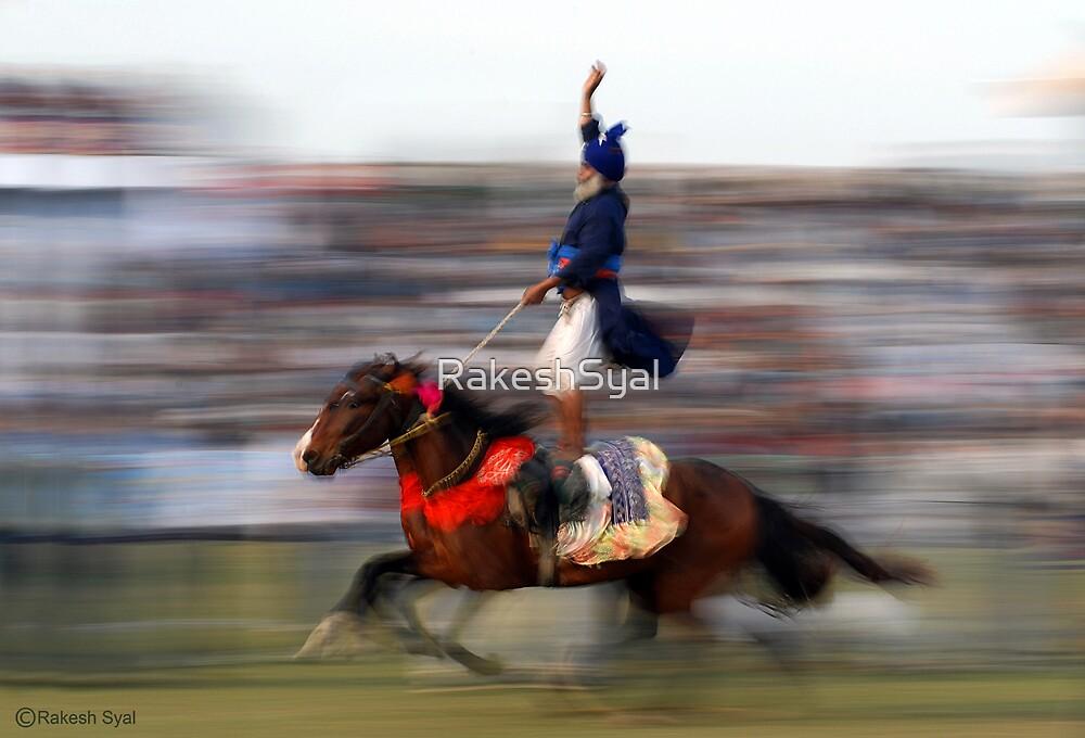 DOUBLE HORSE RIDER by RakeshSyal