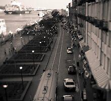 River Street in Tilt Shift by tdwp777