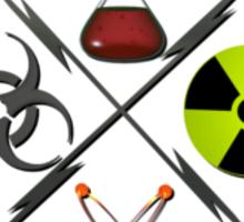 Mad Scientist Union Logo Sticker