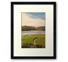 Devoran Creek Cornwall  Framed Print