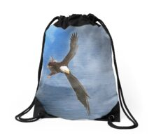 Wings Drawstring Bag