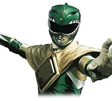 Might Morphin Power Rangers - Green Ranger by Zanie