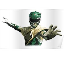 Might Morphin Power Rangers - Green Ranger Poster