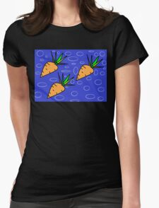 Cute Carrots Womens Fitted T-Shirt