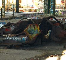 Datsun 120Y by Jon Staniland