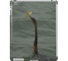 Caught one! iPad Case/Skin