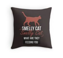 Smelly Cat - Friends Throw Pillow