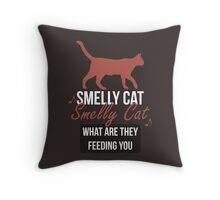 Smelly Cat - Friends Throw Pillow