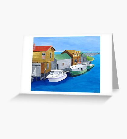 Fishtown Greeting Card
