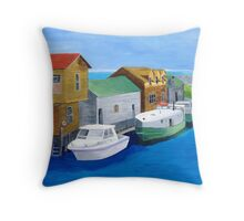 Fishtown Throw Pillow