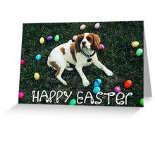 Happy Easter (with text) Greeting Card