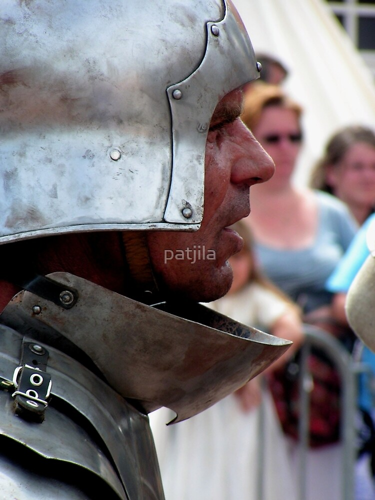 Focussed warrior by patjila
