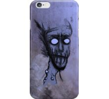 Zombie Blue iPhone Case/Skin