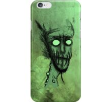 Zombie Green iPhone Case/Skin