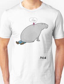 Good boy hippo Unisex T-Shirt