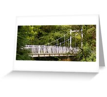 Ness Islands Bridge Greeting Card