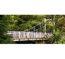 Ness Islands Bridge Photographic Print