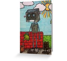 We have to grow old, we don't have to grow up. Greeting Card