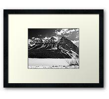 Fairview Mountain ~ Lake Louise  ~  Alberta Framed Print