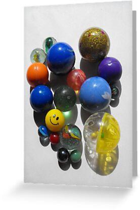 Happy Fun Round Things! by Tracy Wazny