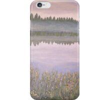 On Blue Pond (revised) iPhone Case/Skin