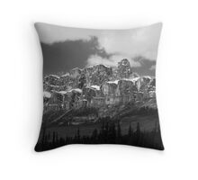 Castle Mountain ~ Banff National Park ~ Alberta Throw Pillow