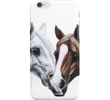 stallion and mare iPhone Case/Skin