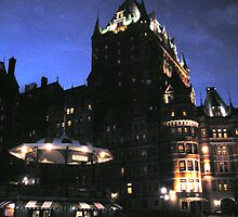 Château Frontenac, Quebec city,  Canada by italienne