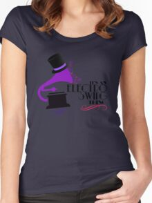 Electro Swing Women's Fitted Scoop T-Shirt