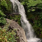 Snowdonia Waterfall by Lawrence McWatt