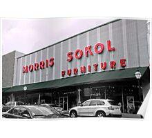 Morris Sokol Furniture Poster