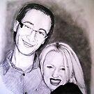 Aaron and Caroline. by Joseph Barbara