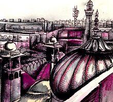 Delhi Spice Market by Alice Worley