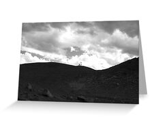 Microwave Tower, Almagre Mountain, CO 2009 Greeting Card