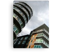 insomniac photos - rising buildings  Metal Print