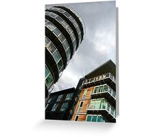 insomniac photos - rising buildings  Greeting Card