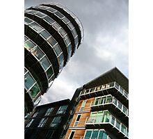 insomniac photos - rising buildings  Photographic Print